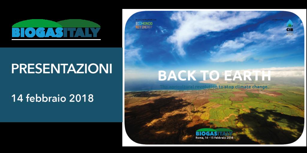 presentazioni BIOGAS ITALY 14 2 2018