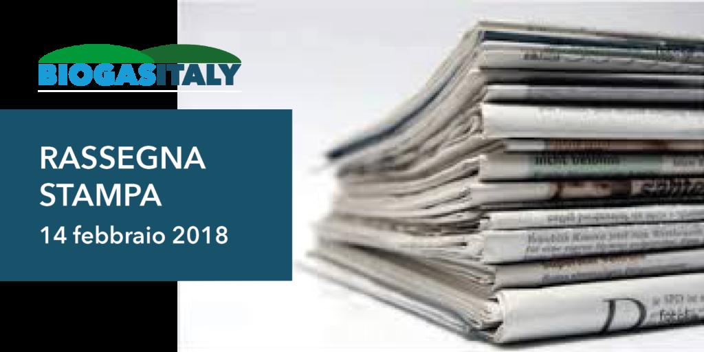 rassegna stampa 14 2 2018 1